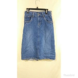 Levi's Jeans Size 10 Girls Jeans Skirt